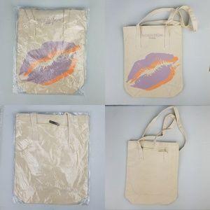 Nordstrom Canvas Beauty Bag Reusable tote NIB